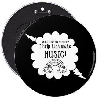 Music Teacher Button