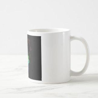 music theme basic white mug