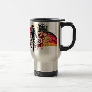 music theme coffee mug