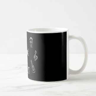 Music Themed Coffee Cup