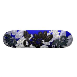 Music Vortex 3.1 Blue Skateboard