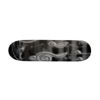 musical 20.6 cm skateboard deck