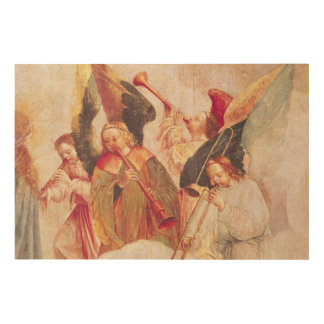 Musical Angels Wood Wall Decor
