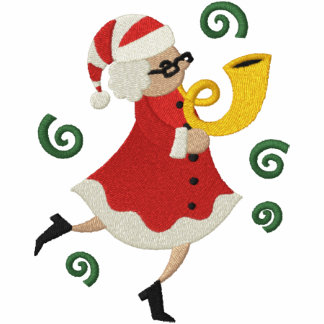 Musical Christmas - Mrs Claus Hoodie