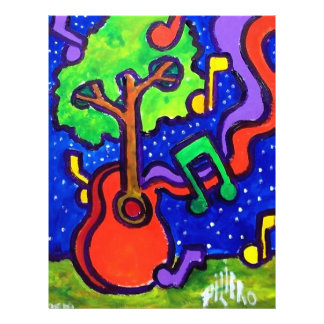 Musical Greetings by piliero 21.5 Cm X 28 Cm Flyer