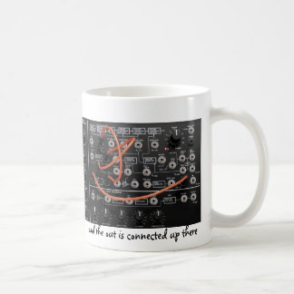 Musical In and Out of Synths Coffee Mug