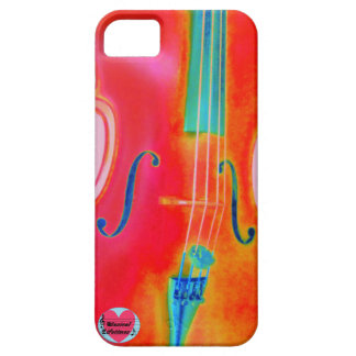 Musical Lifetimes Red Cello iPhone 5/5S Phone Case