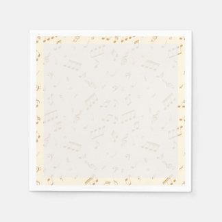 Musical Magic Paper Napkins