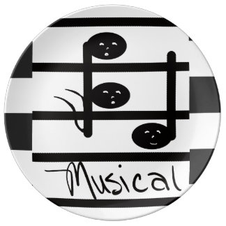Musical Music Notes Dinnerware CricketDiane Party