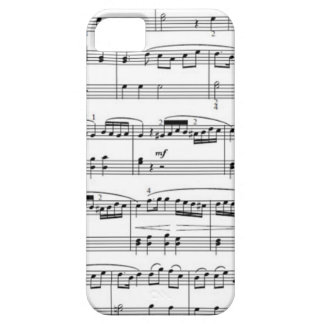 musical notes barely there iPhone 5 case