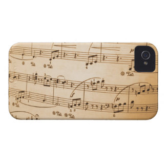 Musical Notes BlackBerry Bold Case