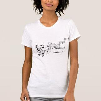Musical Notes - Fine Jersey Short Sleeve Shirts