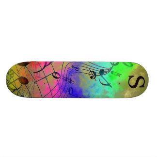 Musical Themed Skateboard