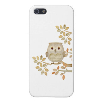 Musical Tree Owl Case For iPhone 5/5S