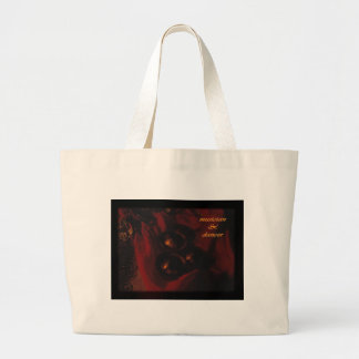 musician & dancer large tote bag