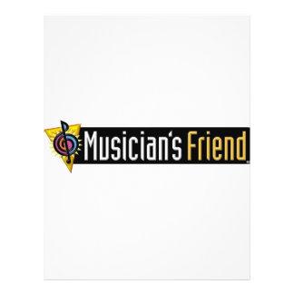 Musician's Friend Swag 21.5 Cm X 28 Cm Flyer
