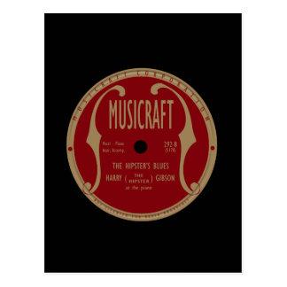Musicraft Label Postcard