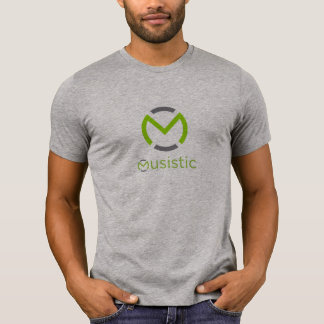 Musistic Short Sleeve T-shirt - Heather Grey