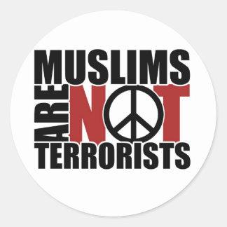 Muslims are not terrorists sticker