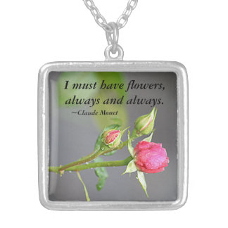 Must Have Flowers Roses Pendant