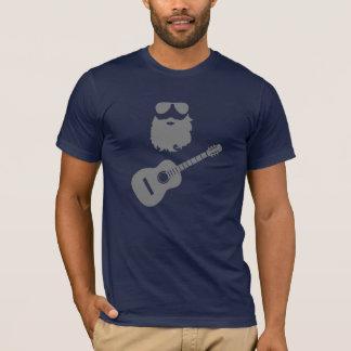 Mustache, Beard, Rock N Roll Dude T-Shirt