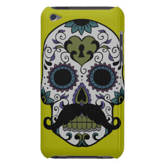 Mustache Day of the Dead iPod Touch Case