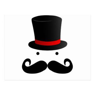 Mustache Design Postcard