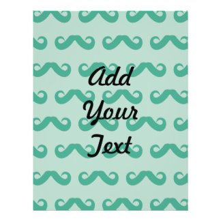 Mustache Greens Custom Flyer