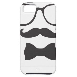 Mustache Hipster Bowtie Glasses iPhone 5 Cases
