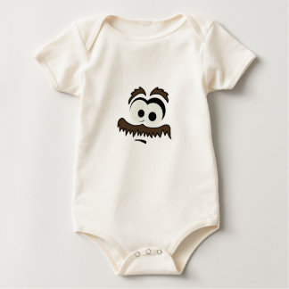 Mustache Man Baby Bodysuit