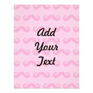 Mustache Pinks Custom Flyer