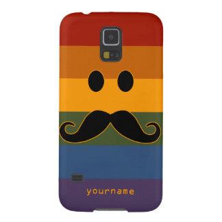 Mustache Pride custom cases Galaxy S5 Case