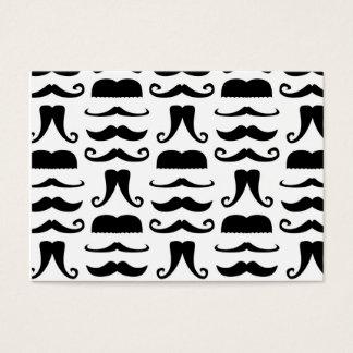 Mustache Print Business Card