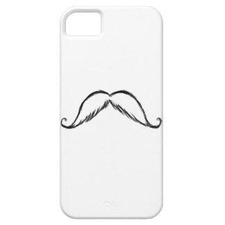 Mustache Sketch iphone case