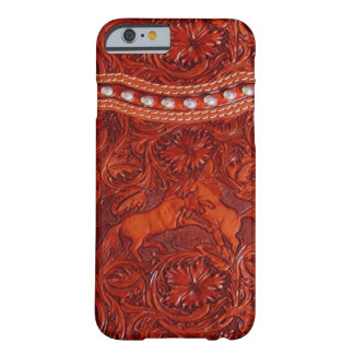 mustang western leather iPhone 6 case Barely There iPhone 6 Case