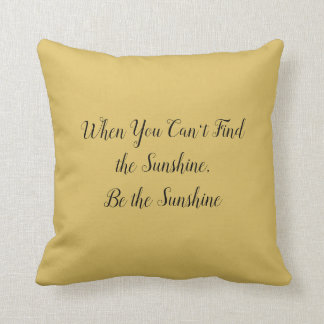 Mustard Yellow with Optional Quote Cushion