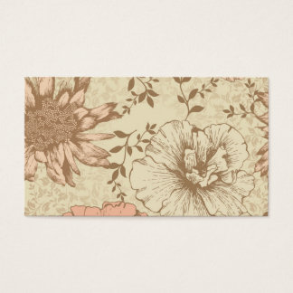 Muted Floral Business Card
