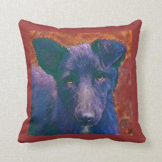 mutt puppy pillow