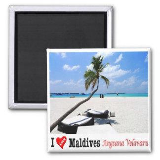 MV - Maldives - Angsana Velavaru - I Love Magnet