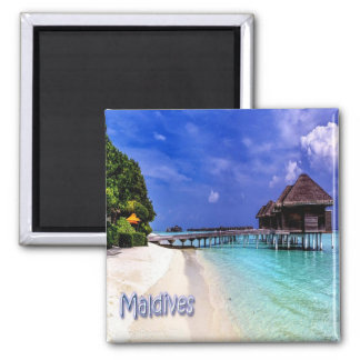 MV - Maldives - Maldives Square Magnet