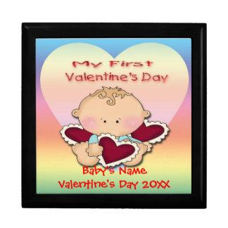 My 1st Valentine s Day boy Gift Box Trinket Box