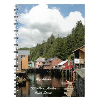 My Alaska, Ketchikan, Alaska -Note Book Spiral Notebook