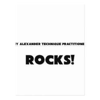 MY Alexander Technique Practitioner ROCKS Postcards