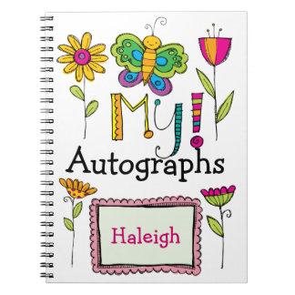 My Autograph Book - SRF Spiral Note Books