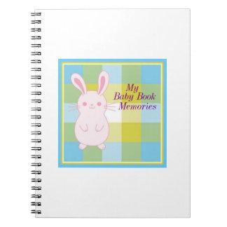 My Baby Book Memories Notebook