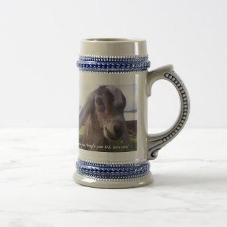 My baby is a nubian dairy goat...mug