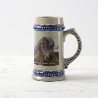 My baby is a nubian dairy goat...mug beer steins