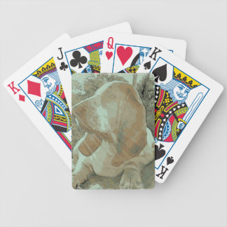My Basset Bicycle Playing Cards