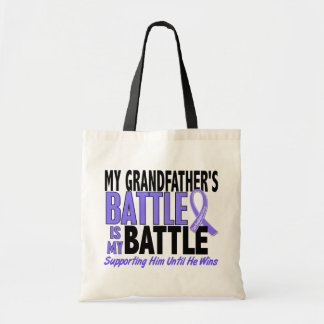 My Battle Too Grandfather Esophageal Cancer Budget Tote Bag