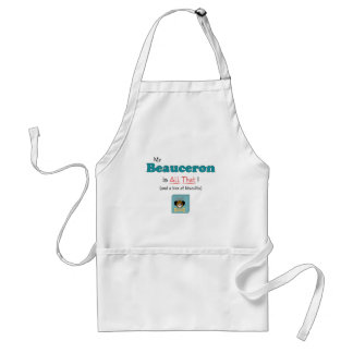 My Beauceron is All That! Standard Apron